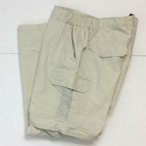Redhead Mens Convertible Cargo Zip Off Pants L